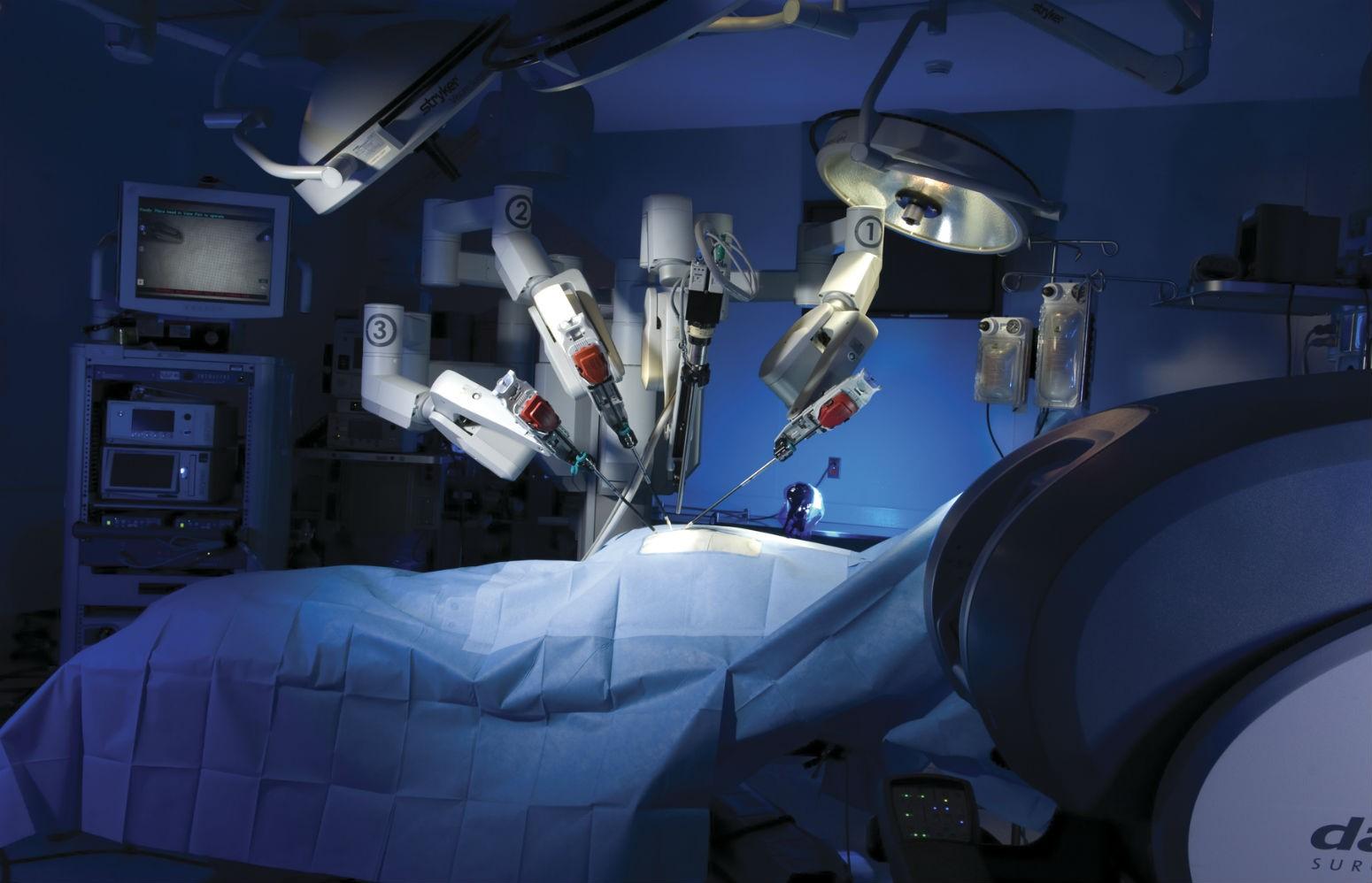 Robotik cərrahiyyə